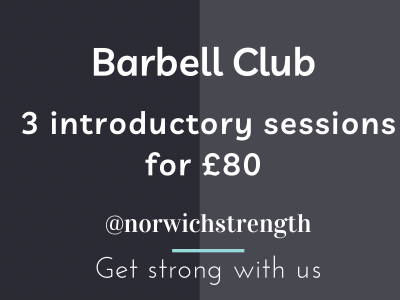 Barbell Club intro sessions £80